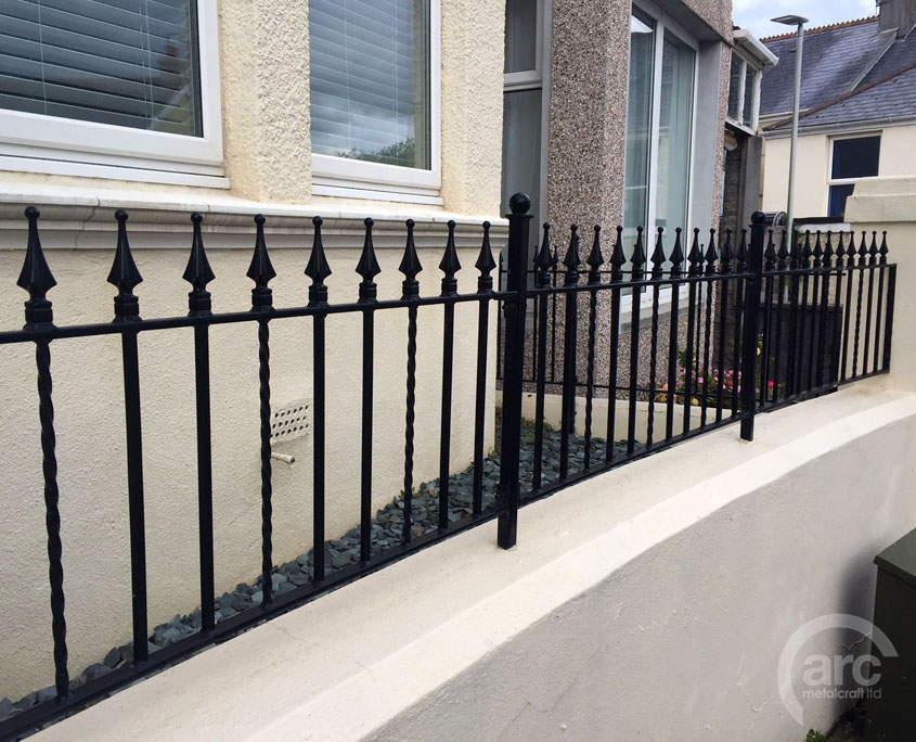 Spiketop Wall Railing
