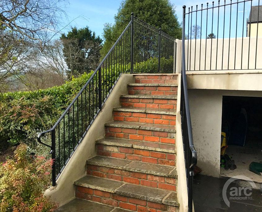 Stair Step Railing Handrail