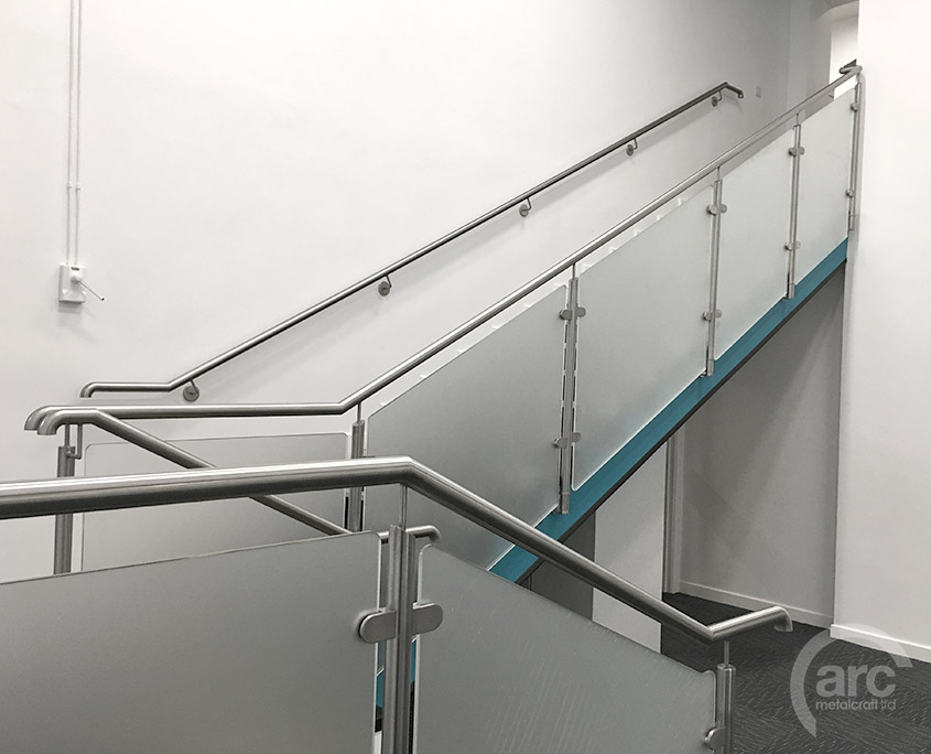 Railings besides Civik Spiral Staircase Kit further Industrial Stairway And Platform additionally Add Contemporary Style To Your Home With Modern Handrails together with Wooden Staircase Design Ideas. on metal stainless steel handrails