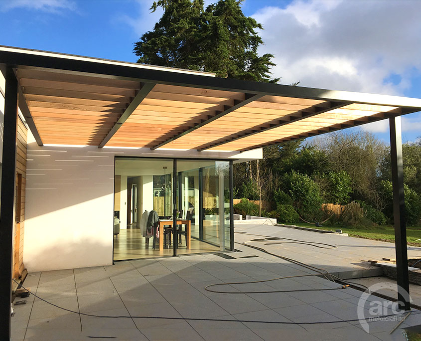 Stainless Steel/Alu Canopies Pergolas – ARC Metalcraft Ltd