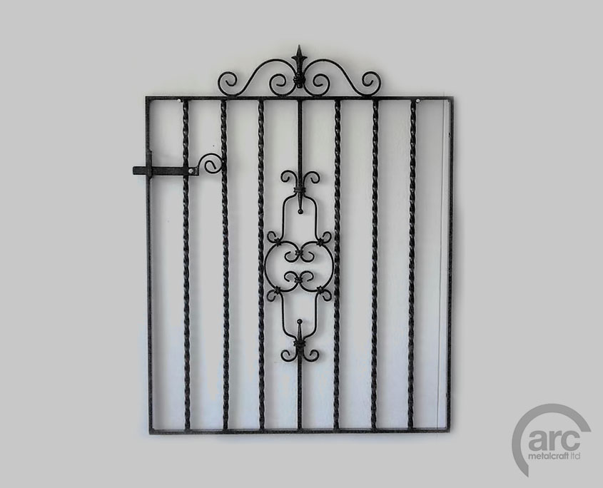 image of a powdercoated gate