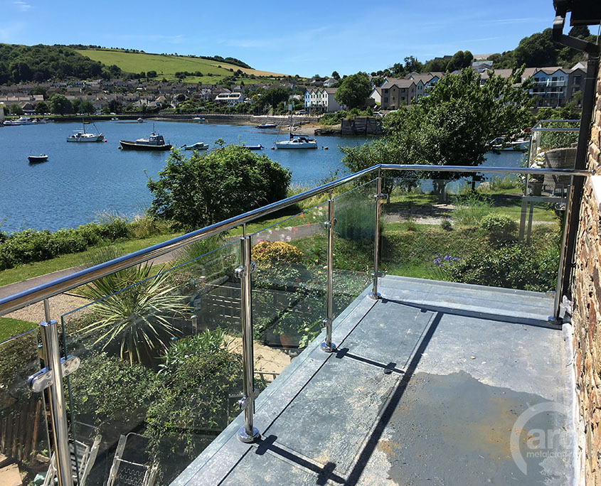 Stainless Balustrade river view