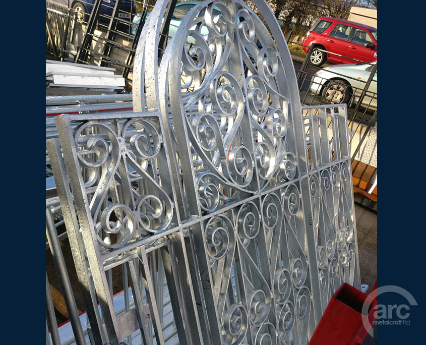 Galvanized Gates