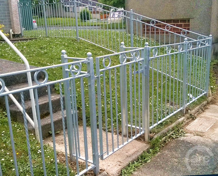 Galvanized Railings